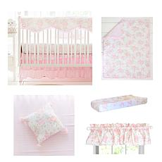 My Baby Sam Wildflower 9-piece Crib Bedding Set