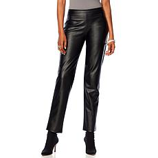 N Natori Stretch Faux Leather Pant
