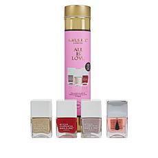 Nails INC. 4-piece All is Love Set