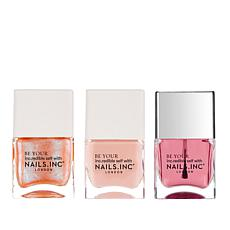 Nails INC Rose a Day 3-piece Collection