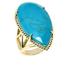 "Natalie Wood Designs ""She's a Stunna"" Faceted Ring"