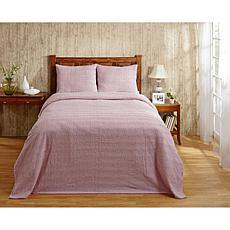 Natick 100% Cotton Tufted Chenille Bedspread - Queen