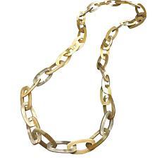 Natural Beauties Buffalo Horn Link Necklace