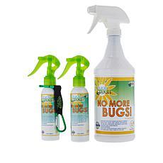 Naturally Green No More Bugs! Bug Repellent Mega Set