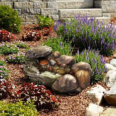 Navarro Cascading Stone Fountain