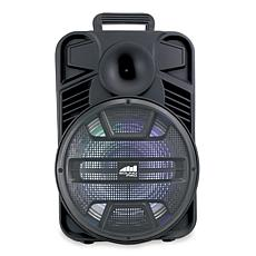 "Naxa NDS-1231 Portable 12"" Bluetooth Party Speaker with Disco Light"