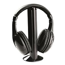 Naxa Professional 5-in-1 Wireless Headphone System