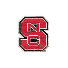 NC State University Distressed Logo Cutout Sign