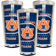 NCAA 3-piece Shot Glass Set - Auburn