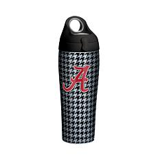 NCAA Alabama Crimson Tide Houndstooth 24 oz. Stainless Water Bottle