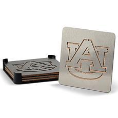 NCAA Boasters 4-Piece Coaster Set - Auburn Tigers