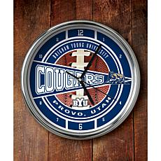 NCAA Chrome Clock - BYU