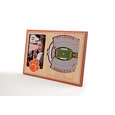 NCAA Clemson Tigers 3-D Stadium Views Picture Frame