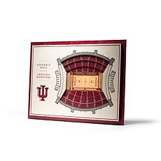 NCAA Indiana Hoosiers StadiumViews 3-D Wall Art - Assembly Hall