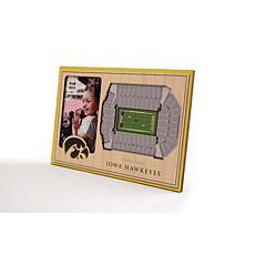 NCAA Iowa Hawkeyes 3-D Stadium Views Picture Frame