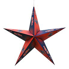 NCAA Mississippi Rebels Star Lantern