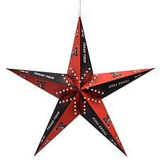 NCAA Texas Tech Red Raiders Star Lantern