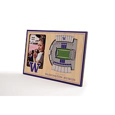 NCAA Washington Huskies 3-D Stadium Views Picture Frame