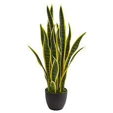 "Nearly Natural 26"" Sansevieria Artificial Plant"