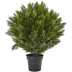 Nearly Natural 3' Cedar Bush Indoor/Outdoor