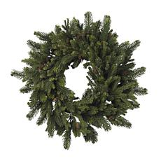 "Nearly Natural 30"" Pine & Pine Cone Wreath"