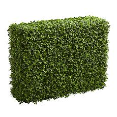 "Nearly Natural 39"" Boxwood Artificial Hedge Indoor/Outdoor"