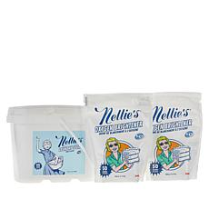 Nellie's 400-Load Laundry Soda & 100-Scoop Oxygen Brightener