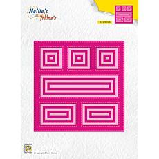 Nellie's Choice Multiframe Die Block Die Square