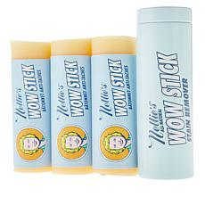 Nellie's WOW Stick 3-pack Natural Stain Removers with Metal Tin