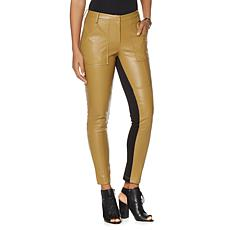 NENE by NeNe Leakes Fab Faux Leather Cargo Pant