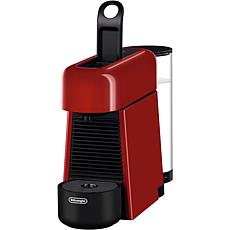 Nespresso Essenza Plus Single-Serve Espresso Machine in Cherry Red