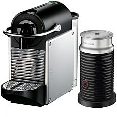 Nespresso Pixie Single-Serve Espresso Machine & Aeroccino Milk Frother