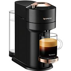 Nespresso Vertuo Next Premium Coffee/Espresso Maker in Black Rose Gold