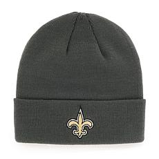 New Orleans Saints NFL Gray Cuff Knit Beanie