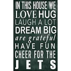 New York Jets In This House Sign