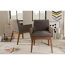 Nexus Upholstered 2-piece Arm Chair Set
