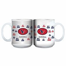 NFL 15 oz. Father's Day Team Mug - Texans