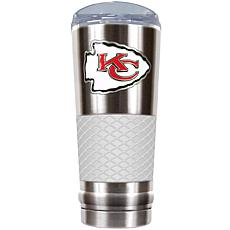 NFL 24 oz. Stainless Steel/White Draft Tumbler - Chiefs
