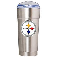 NFL 24 oz. Team Emblem Eagle Tumbler - Steelers