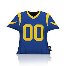 NFL Big League Jersey Pillow - LA Rams