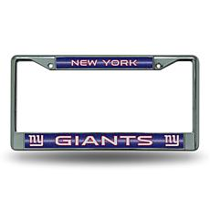 NFL Bling Chrome Frame - Giants