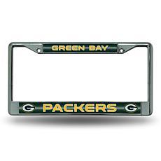 NFL Bling Chrome Frame - Packers