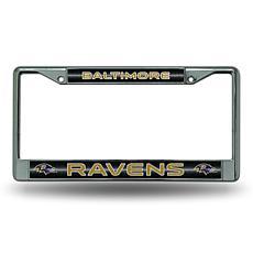 NFL Bling Chrome Frame - Ravens
