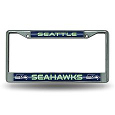 NFL Bling Chrome Frame - Seahawks