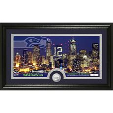 NFL Bronze Coin Photo - Seattle Seahawks