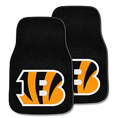 NFL Cincinnati Bengals 2-piece Carpet Car Mat Set