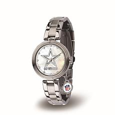 NFL Crystal Charm Watch - Dallas Cowboys