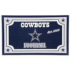 NFL Embossed Door Mat - Cowboys
