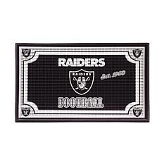 NFL Embossed Door Mat - Raiders