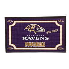 NFL Embossed Door Mat - Ravens